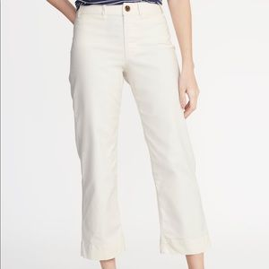 Old Navy Wide Leg Chinos